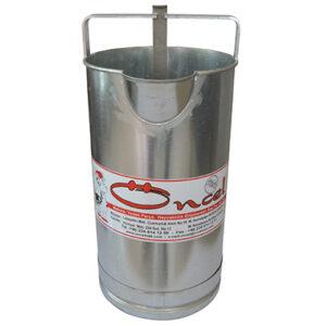Мерилка за мляко 20 л - поцинкована - A0109