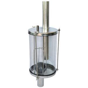 Стъклен фанус -8 л - R0165