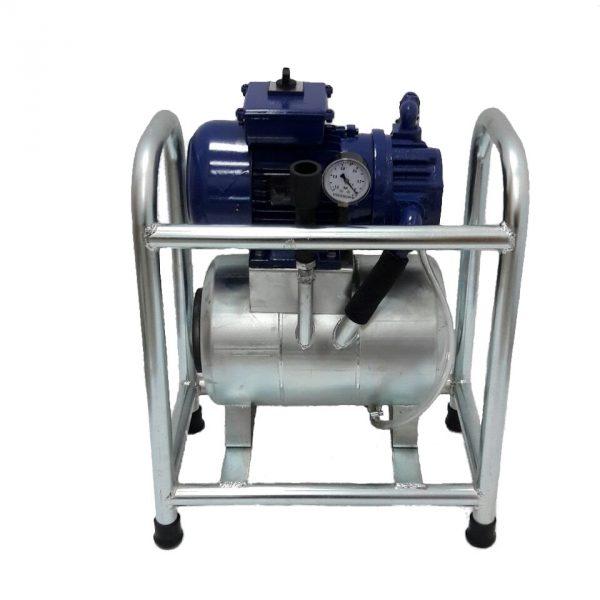 Неподвижен доилен агрегат