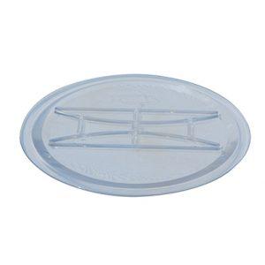 Капак за вакуумен резервоар - плосък, прозрачен - ø166 ø150 - R0035