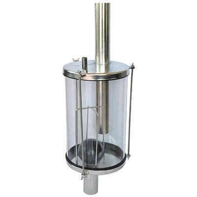 Стъклен фанус -8 л – R0165