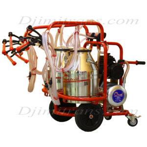 Доилен агрегат за 4 овце с 2 гюма (1)